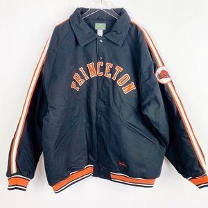 STALL & DEAN Princeton Bomber Letterman Jacket 4x